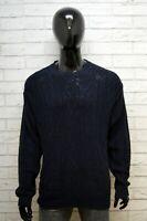 Murphy & Nye Maglione Uomo Taglia 2XL Pullover Felpa Sweater Man Cardigan Cotone