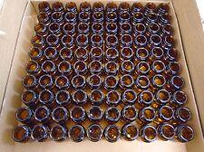PIRAMAL Glass 15mL WMP Amber Wide Mouth 28-400 GPI Thread Cap Jar (Case of 500)