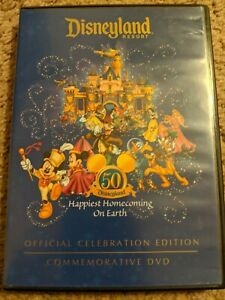 DISNEYLAND RESORT Happiest Homecoming On Earth OFFICIAL 50th Celebration DVD