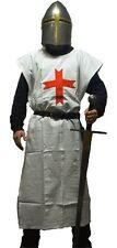 Battle Merchant Kreuzritter Waffenrock Weiß Gewand Wappenrock LARP Mittelalter