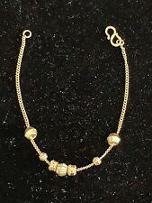 999 K Gold Bracelet