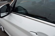 PORTA LATERALE CROMO Window Sill Copertine Trim Set Per Adattarsi BMW serie 1 5dr (2011+)