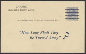 Canada #P29a 1/2c Admiral Reply, Private Precancel Womens College Hospital Fund