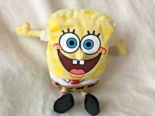 "Ty Beanie Baby 7"" SpongeBob Square Pants Plush Stuffed Toy"