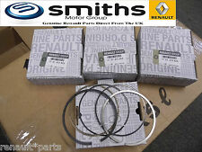 Genuine Renault Clio 172 182 2.0 16v  Piston Ring Set 4 F4R Laguna Espace