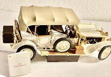 Franklin Mint 1911 Rolls Royce Tourer Silver Ghost 1:24 Scale Diecast Model Car