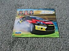 2010 Ford Racing Fiesta Ralley Hero Card - Tanner Foust/Kenny Brack/Brian Deegan