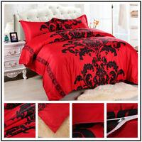 Bedding Set 3pcs Bedclothes Cover Pillowcase No Sheets Quilt Bedding 2.28*2.28m
