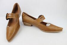 Chaussures Pointues à Brides TEXTO Cuir Marron T 40 ETAT NEUF