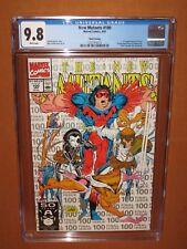 New Mutants #100 CGC 9.8 1st X-Force! HIGHEST CGC grade for a 3rd Print! 12 pix