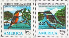 EL SALVADOR 1995 MNH SC 1420-21 AMERICA UPAEP, AQUATIC BIRDS