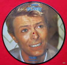 """David Bowie Picture Disc Record 12""""  Interview Let's Talk"""