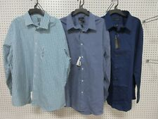 3 Men Shirts Dress Clothes Collar Button Down 18 1/2 36-37 34-35 Arrow Structure