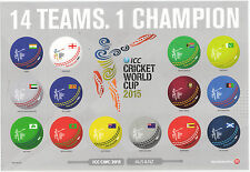 NEW ZEALAND 2015 CRICKET WORLD CUP SHEETLET OF 14 UNMOUNTED MINT