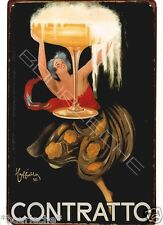 20X30cm Tin Metal Sign COCKTAIL CONTRATTO HOME CAFE BAR CLUB PUB Wall Z-05