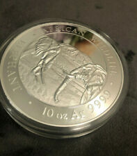 10 oz. 0.9999 Silver Coin - 2020 Somalia African Elephant 1000 Shillings