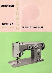 Aldens 148 -B Zig Zag Sewing Instruction Manual User Guide PRINTED Copy