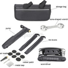 Bike Repair Cycling Tool Set Bicycle Tyre Wrench Maintenance Bicycly Pump Kits