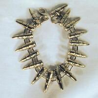 BUY 1 GET 1 FREE METAL BULLET SHAPED BRACELET circle of bullets mens military