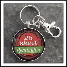 Remington Shotgun Skeet Shoulder Patch Photo Keychain Fathers Day Gift