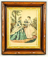 STUNNING ANTIQUE VICTORIAN AESTHETIC EASTLAKE DEEP SHADOW BOX PICTURE FRAME