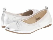 Silver Shoes Kenneth Cole Reaction Silver Flats Youth Girls Size 5