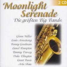 Moonlight Serenade Die größten Big Bands (Harry James, Count Basie) Doppel CD