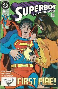 DC Comics Superboy The Comic Book #2   D1a18