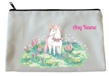 Personalised UNICORN Scene Accessory/Pencil Case/Make Up Bag