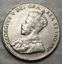 Canada 1927 5 Cents, High Choice EF Grade