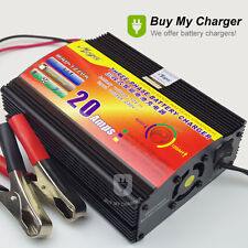2018 Switch Mode 12V Volt 20A Amp Car Motorcycle Lead Acid Battery Charger