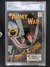 Our Army At War #83 - CBCS 5.5 FN- DC 1959 - 1st App Sgt. Rock - Kubert/Kanigher