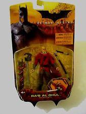 BATMAN BEGINS RA'S AL GHUL ACTION FIGURE DC WB MATTEL 2005 MINT ON CARD