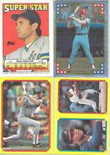 1988 Topps Baseball Sticker & Stickerback Variations Listing 3 of 3 You Pick!
