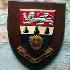 More details for obsolete west mercia police crest plaque shield