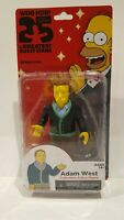 THE SIMPSONS 25 OF THE GREATEST GUEST STARS- ADAM WEST BATMAN FIGURE PACKAGE