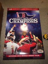 "Boston Red Sox MLB 2013 World Series Champions Poster 24"" X 36"""