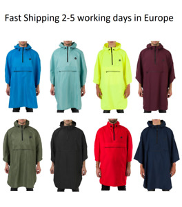 AGU Grant Poncho Rain Hoodie Water Proof Breathable Cycling One Size Fits All