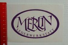 Aufkleber/Sticker: Merlin Lederwerkstatt (240416157)