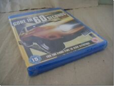 GONE IN 60 SECONDS  - HB HALICKI  blu-ray UK RELEASE NEW  FACTORY SEALED