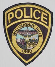 Aufnäher Patch Abzeichen USA Polizei Police Willoughby Hills Ohio .......A3800