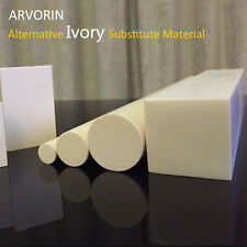 "ARVORIN - Imitation Resin Based Ivory Substitute Material 12"" Rod Block"