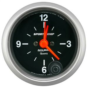 AutoMeter 3385 Sport-Comp Clock