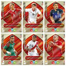 Panini Adrenalyn XL World Cup 2018 Lot of 6 Limited Edition cards - Ultra rare
