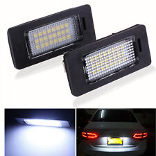 2x For BMW 3 5 Series Canbus LED License Number Plate Light E39 E60 E61 E90 E92