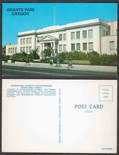 Old Oregon Postcard - Grants Pass - Josephine County Courthouse