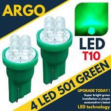 LED Brillante Xenon Poder Luz Lateral 501 194 W5w 158 168 T10 Super Verde Bulbos