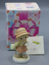 "Precious Moments ""Thursday's Child Has Far to Go"" 692115 Girl with Map Figurine"
