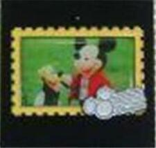 MICKEY Mouse & PLUTO HKDL STAMP Collection DISNEYLAND HONG KONG 2008 PIN