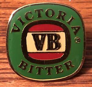 Vintage Lapel Hat Pin Victoria Bitter Australia Melbourne Lager Beer